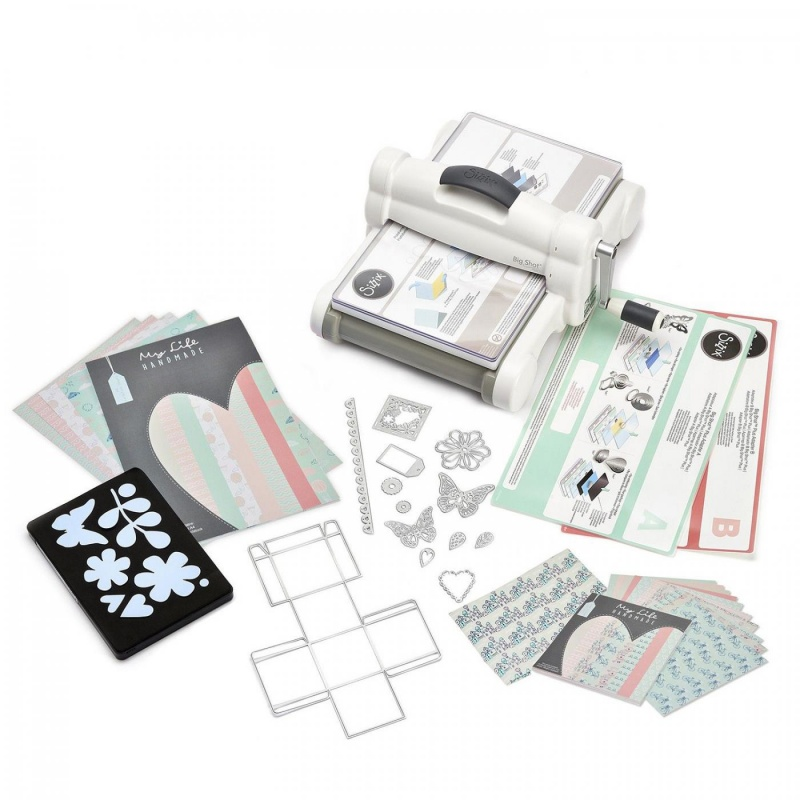 Sizzix Big Shot plus, štartovacia sada, A4