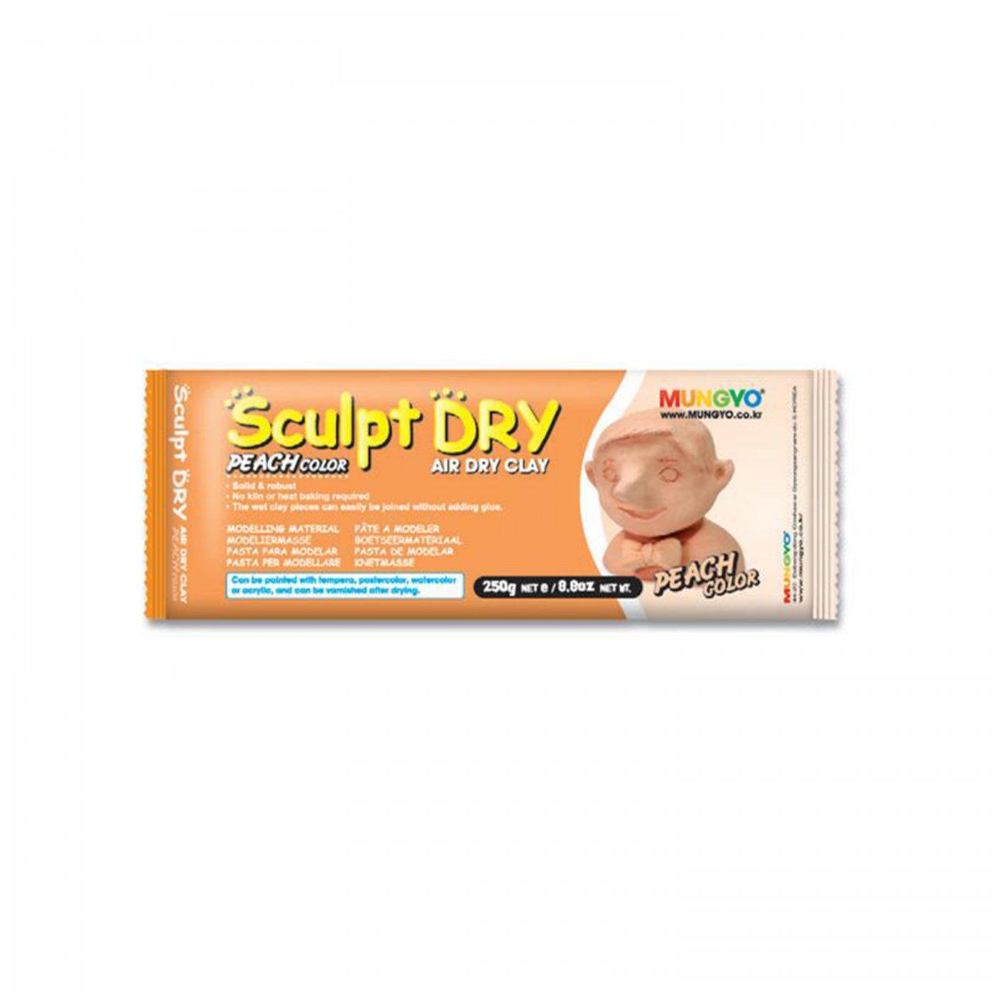 Samotvrdnúca hlina Sculpt Dry 250 g broskyňová  e78ae3b44e3