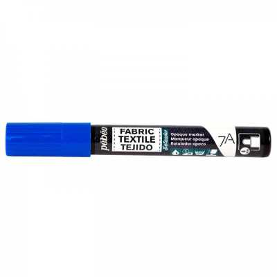 7A fixka na textil, 408 Blue, 4 mm