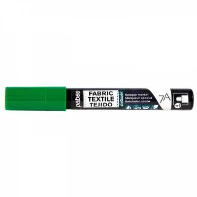 7A fixka na textil, 411 Green, 4 mm
