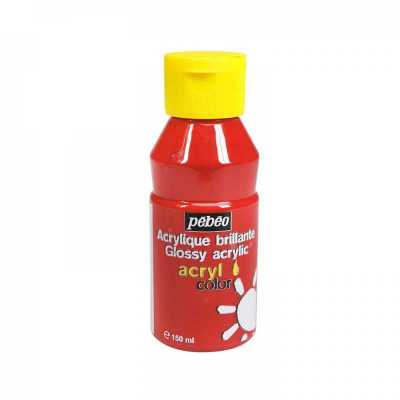 Acrylcolor 1 l, 113 Primary red