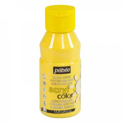 Acrylcolor 150 ml, 130 Pastel yellow
