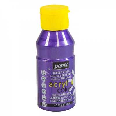 Acrylcolor 150 ml, 154 Pearl violet