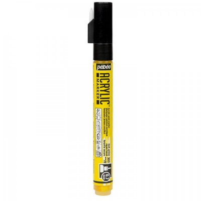 ACRYLIC MARKER 0,7 mm, 03 Dark Yellow