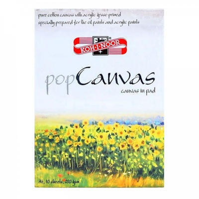 Blok pop Canvas, A4, 10 x 280 g/m2