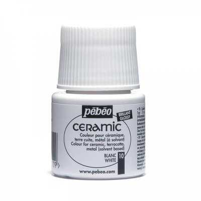 Ceramic 45 ml, 10 White