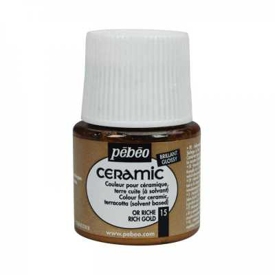 Ceramic 45 ml, 15 Rich gold