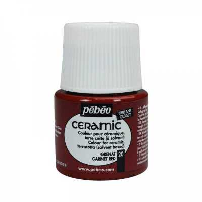 Ceramic 45 ml, 20 Garnet red