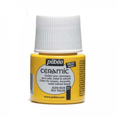 Ceramic 45 ml, 21 Rich yellow