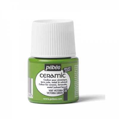 Ceramic 45 ml, 28 Victoria green
