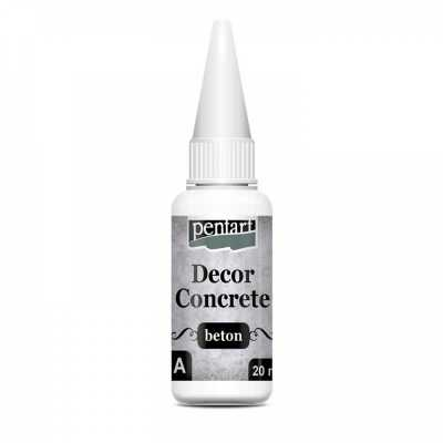 Decor beton, bet�nov� pr�ok �ahk�, 250 ml + 20 ml