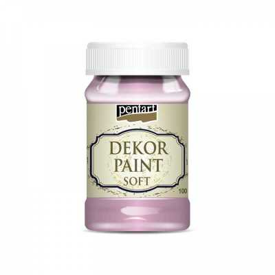Dekor Paint Soft 100 ml, baby ružová