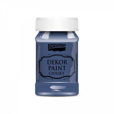 Dekor Paint Soft 100 ml, džínsovo modrá