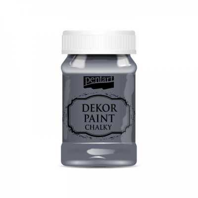 Dekor Paint Soft 100 ml, grafitová sivá