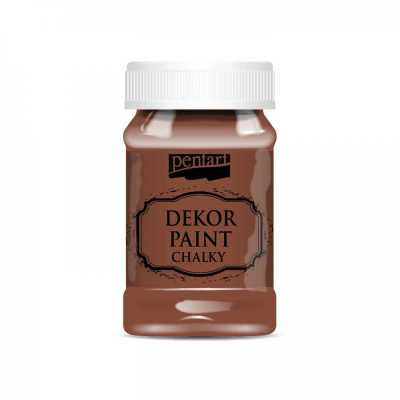 Dekor Paint Soft 100 ml, hnedá