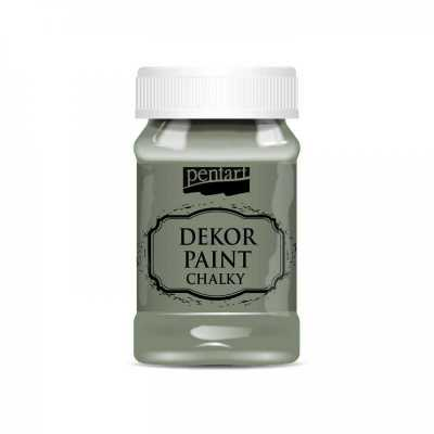 Dekor Paint Soft 100 ml, khaki zelená