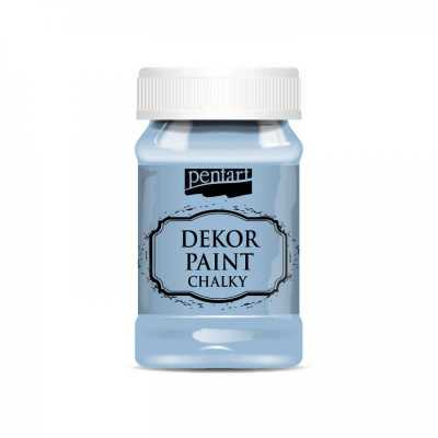 Dekor Paint Soft 100 ml, ľanová modrá