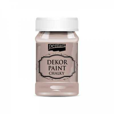 Dekor Paint Soft 100 ml, vintage hnedá