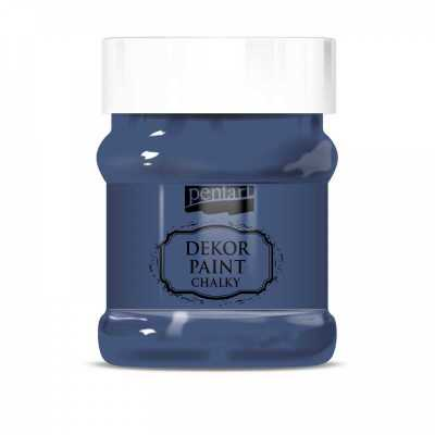 Dekor Paint Soft 230 ml, denim modrá
