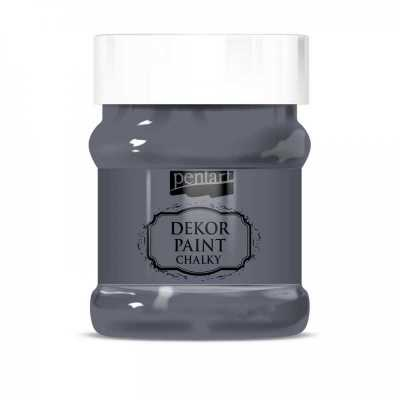Dekor Paint Soft 230 ml, grafitová šedá