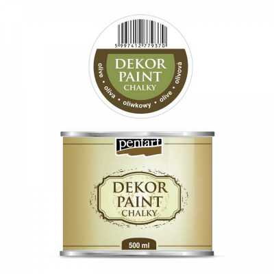 Dekor Paint Soft 500 ml, olivová