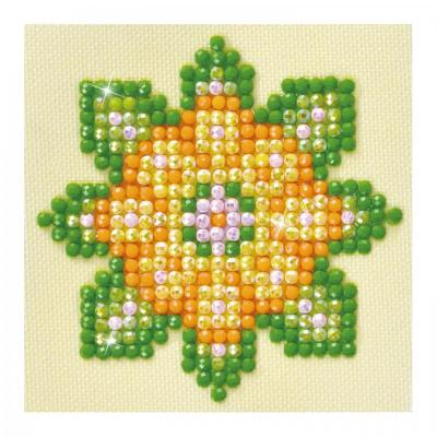 Diamond dotz, Flower Mandala 1, 7,6 x 7,6 cm