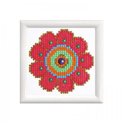 Diamond dotz, Flower Power Dd Kit, 10,2 x 10,2 cm