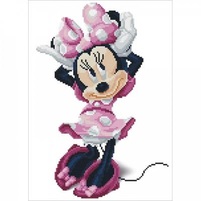 Diamond dotz, Minnie's Bow Kit, 31 x 43 cm