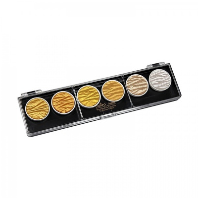 Finetec, Coliro Pearl color set gold/silver, 6 ks