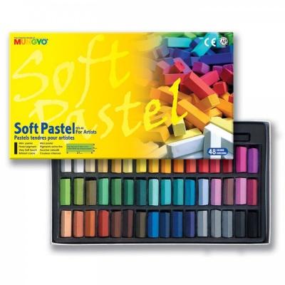 Sada mäkkých pastelov FOR ARTIST 48 ks f32269736f4