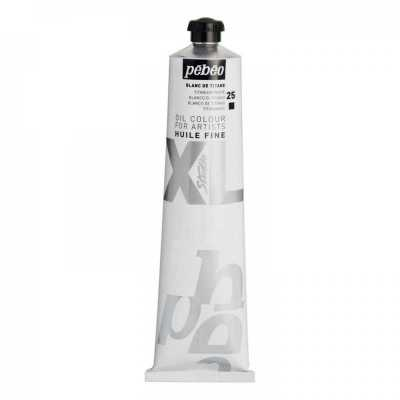 Studio XL 200 ml, 25 Titanium white
