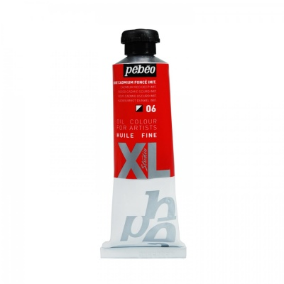 Studio XL 37 ml, 06 Cadmium red deep hue