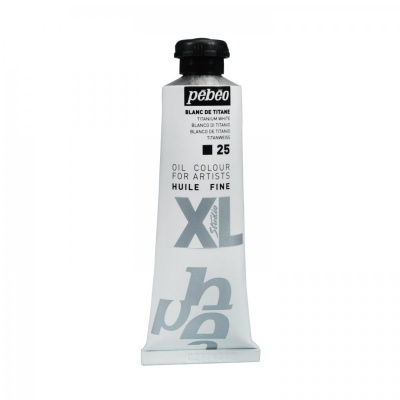 Studio XL 37 ml, 25 Titanium white